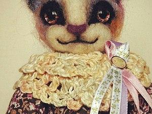 Аукцион на авторскую кошку ЗАВЕРШЕН | Ярмарка Мастеров - ручная работа, handmade