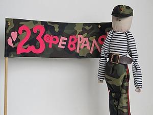 Стойкий деревянный солдатик — мастерим подарок на 23 февраля. Ярмарка Мастеров - ручная работа, handmade.