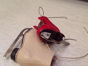 Коньки фигурные СЪЕМНЫЕ на кукол БЖД и не только | Ярмарка Мастеров - ручная работа, handmade
