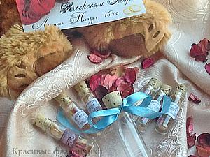 Свадебное приглашение в бутылке или комплимент для гостей. Ярмарка Мастеров - ручная работа, handmade.