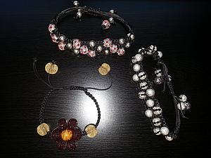 Мастер-классы по плетению браслетов Шамбала (обычный и двойной).   Ярмарка Мастеров - ручная работа, handmade
