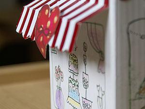 Игрушки из ненужных коробок. Очень простые приёмы для тех, у кого есть малыши. | Ярмарка Мастеров - ручная работа, handmade