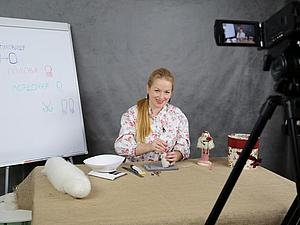 Сегодня состоялась запись моего мастер-класса онлайн для начинающих по Овечке Маковке! | Ярмарка Мастеров - ручная работа, handmade