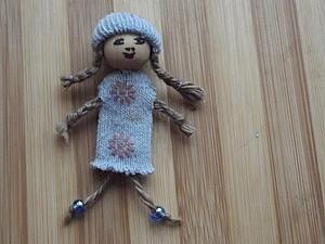 Мартиничка из бусинки и старой перчатки | Ярмарка Мастеров - ручная работа, handmade