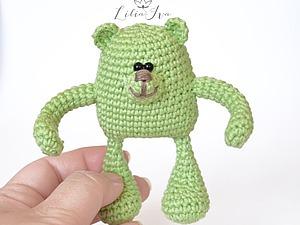 Вяжем игрушку «Мишка» амигуруми | Ярмарка Мастеров - ручная работа, handmade