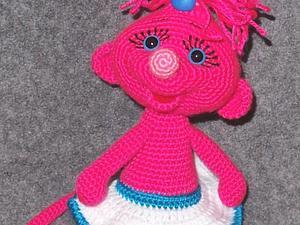 Мастер-класс по вязанию мышки Мими. Ярмарка Мастеров - ручная работа, handmade.