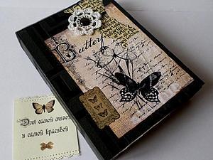 Упаковка для ежедневников - образцы подарочных коробочек + Акция! | Ярмарка Мастеров - ручная работа, handmade