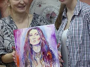 Акварельные скетчи. Рисуем экспрессивные портреты. | Ярмарка Мастеров - ручная работа, handmade