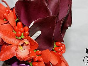Букет из  холодного форфора | Ярмарка Мастеров - ручная работа, handmade