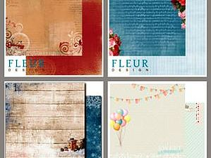 Новые коллекции бумаги от Fleur Design | Ярмарка Мастеров - ручная работа, handmade