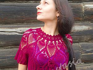 Коллекция вязаных платьев от моей ученицы   Ярмарка Мастеров - ручная работа, handmade
