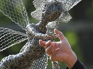 Танец с одуванчиками или Robin Wight   Ярмарка Мастеров - ручная работа, handmade