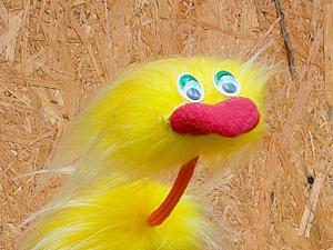 Делаем марионетку-страуса из солнечной Африки. Ярмарка Мастеров - ручная работа, handmade.