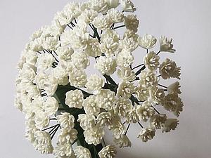 Изготовление гипсофилы из фоамирана. Ярмарка Мастеров - ручная работа, handmade.