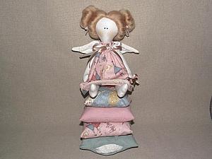 Шьем принцессу на горошине (Тильда). Ярмарка Мастеров - ручная работа, handmade.