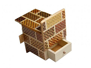 Японская шкатулка-ребус | Ярмарка Мастеров - ручная работа, handmade