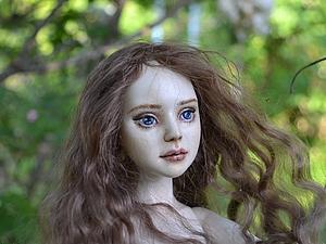 Шарнирная кукла-первенец Эмилия | Ярмарка Мастеров - ручная работа, handmade