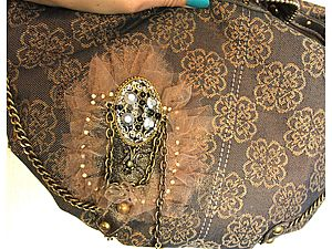 Реставрация сумки в винтажном стиле. Ярмарка Мастеров - ручная работа, handmade.