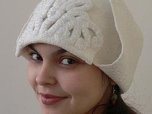 Валяем стильную шапку-ушанку