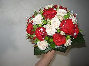 Мастер-класс: букет невесты. Ярмарка Мастеров - ручная работа, handmade.