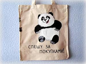 Пластиковым пакетам - НЕТ! Эко-сумкам - ДА!   Ярмарка Мастеров - ручная работа, handmade