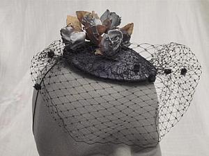 Изготовление головных уборов. Техника классического обтягивания шляпки тканью.   Ярмарка Мастеров - ручная работа, handmade