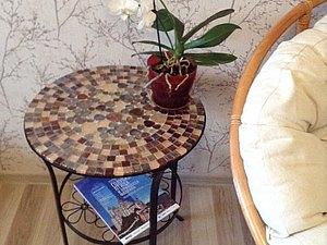 Как сделать Шикарный мозаичный столик Карамелька за 2 тыс. Рублей | Ярмарка Мастеров - ручная работа, handmade