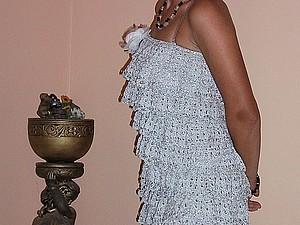 Аукцион с нуля! Платье крючком! | Ярмарка Мастеров - ручная работа, handmade