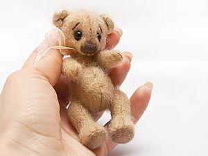 мишка до 10 см | Ярмарка Мастеров - ручная работа, handmade