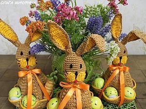 Пасхальный заяц | Ярмарка Мастеров - ручная работа, handmade