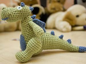 Дракон вязаный крючком | Ярмарка Мастеров - ручная работа, handmade