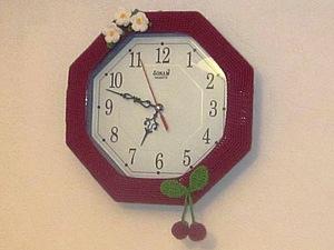Часы для кухни | Ярмарка Мастеров - ручная работа, handmade