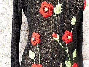 Имитация  ирландского кружева или вязание для ленивых. | Ярмарка Мастеров - ручная работа, handmade