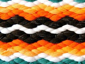 Видео мастер-класс: выполняем 4-х ремизный узор «Зигзаг» на двух бёрдышках настольного ткацкого станка. Ярмарка Мастеров - ручная работа, handmade.