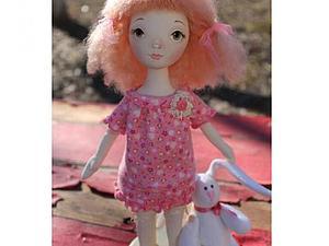 Аукцион!!! текстильная  куколка !!!   Ярмарка Мастеров - ручная работа, handmade
