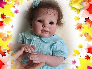 Малышка Евдокия - Кукла реборн Инны Богдановой | Ярмарка Мастеров - ручная работа, handmade