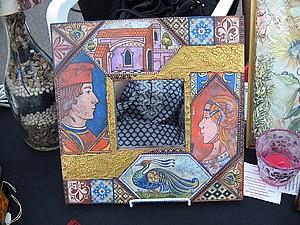 Декор с применением фацетного лака. | Ярмарка Мастеров - ручная работа, handmade