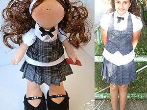 Мастер-класс  по Игрушке Tilda  Портретная Кукла | Ярмарка Мастеров - ручная работа, handmade