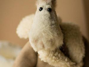 Конь в зимнем пальто! | Ярмарка Мастеров - ручная работа, handmade