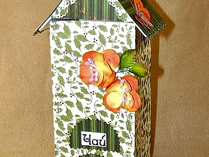 Чайный домик из картона, своими руками. | Ярмарка Мастеров - ручная работа, handmade
