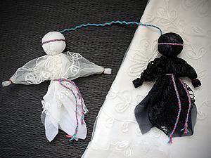 Своими руками кукла день ночь