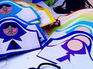 Развивающие «матрешки-застежки» из фетра. Ярмарка Мастеров - ручная работа, handmade.
