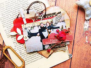 Делаем симпатичный магнит-валентинку. Ярмарка Мастеров - ручная работа, handmade.