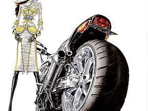 Fashion-иллюстрации от Артуро Елена | Ярмарка Мастеров - ручная работа, handmade