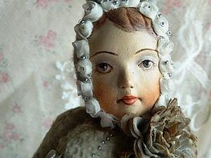 Лепим лицо из паперклея для тедди-долл   Ярмарка Мастеров - ручная работа, handmade