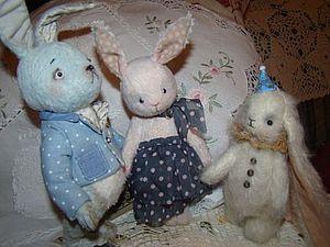 История про зайцев) | Ярмарка Мастеров - ручная работа, handmade
