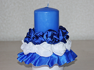 Создаем свадебную свечу. Ярмарка Мастеров - ручная работа, handmade.