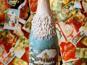 бутылки декупаж фото