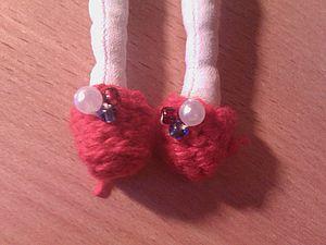 Туфельки для тильды | Ярмарка Мастеров - ручная работа, handmade