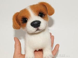 Мастер-класс по созданию игрушки из шерсти на примере зайки,мышки, или щенка | Ярмарка Мастеров - ручная работа, handmade